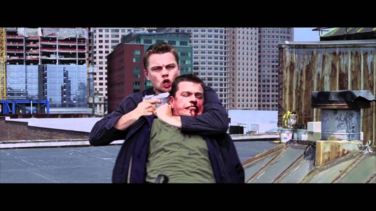 The Departed - Roof Scene