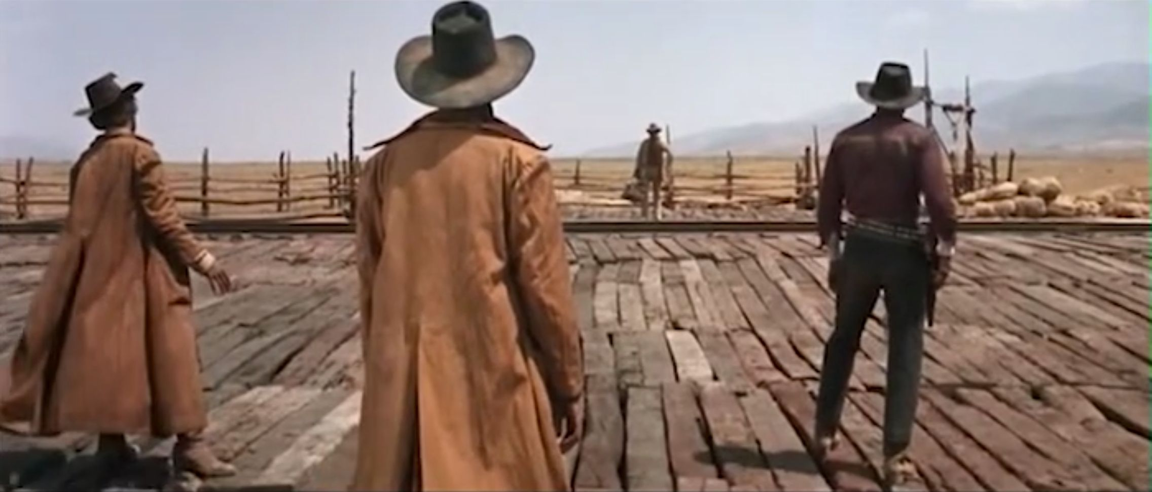 Once Upon a Time in the West - Opening Scene